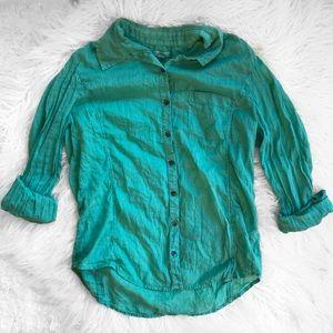 Caslon Button Down Lightweight Cotton Shirt